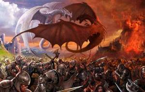 the_battle_between_red_and_white_dragon