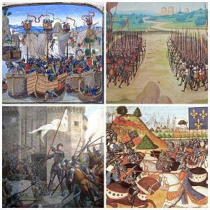 hundred_years_war_collage