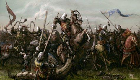 mounted_battle_by_neilblade