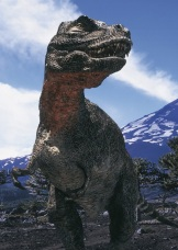 Walking with Dinosaurs - Series 1 - Episode 6 - Death of a Dynasty - Picture shows: Tyrannosaurus