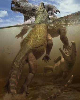 Lystrosaure_et_Proterosuchus